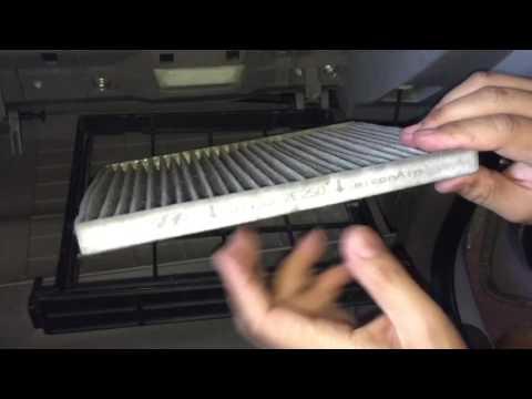 How to remove/replace cabin filter of Kia Sedona/Carnival