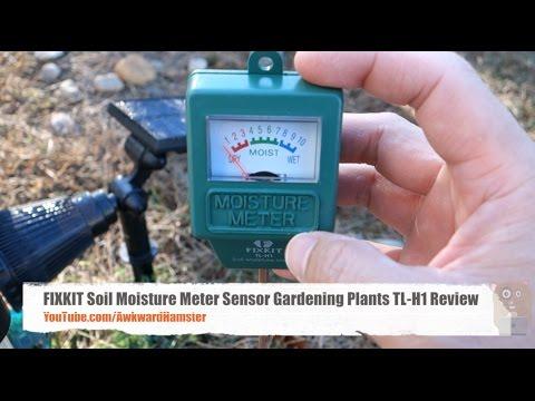 FIXKIT Soil Moisture Meter Sensor Gardening Plants TL-H1 Review