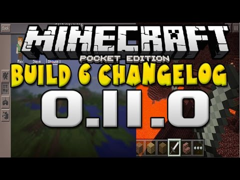 [0.11.0] Beta Build 6 Changelog!! - NETHER CONFIRMED? - Minecraft Pocket Edition