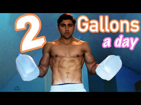 Why I Drink 2 Gallons Of Water A Day For Fat Loss