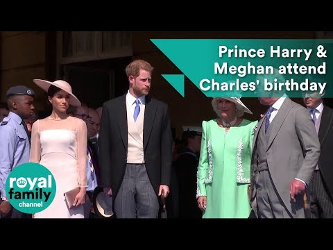 Duke and Duchess of Sussex, Prince Harry and Meghan, attend Prince Charles' 70th birthday