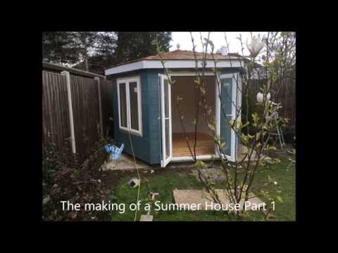 How to Make a Summer House part 1