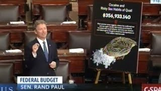 Rand Paul Spotlights Government Waste By Highlighting Study On Sexual Habits Of Quail On Cocaine!