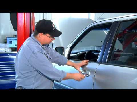 How to De-Ice a Car Door