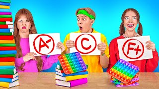 TYPES OF STUDENTS IN EVERY CLASS    Funny Back to School Students by 123 GO! SERIES