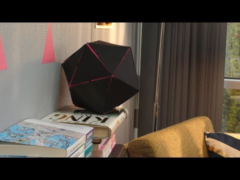 Making a Paper Icosahedron, or 20 Sided Dice - Tutorial