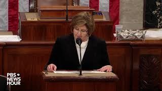 WATCH: Nancy Pelosi declared House speaker after vote count