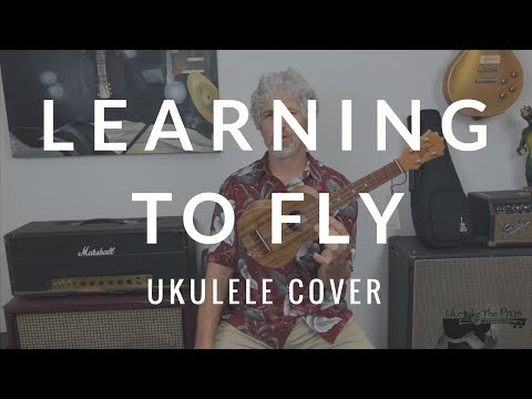 Learning To Fly Tom Petty Ukulele Cover