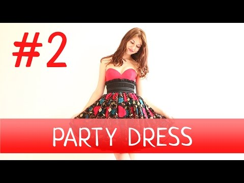 How to make a Party Dress? #2 Dressmaking