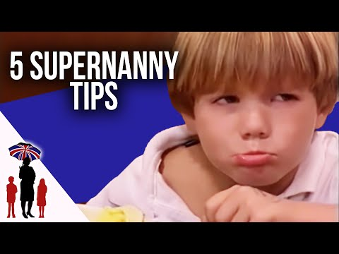 5 Essential Parenting Tips #2 - How To Deal With Tantrums, Dinner Time & More | Supernanny