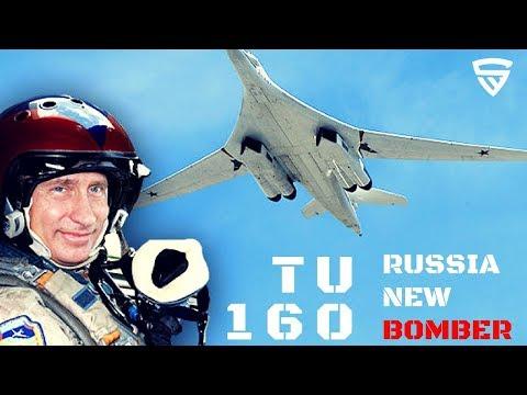 TU 160M2 : Meet Russia's New Super Bomber
