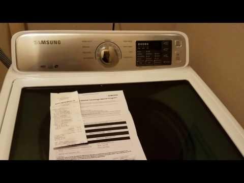 How-to Return Samsung Top Load Washing Machine - Recalled