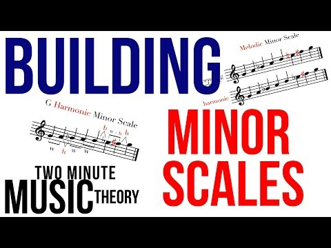 Minor Scales Explained: Natural/Harmonic/Melodic - TWO MINUTE MUSIC THEORY #27