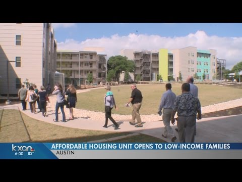 Homeless, low income families get low rent at new affordable housing unit