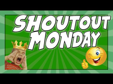 🔥 SHOUTOUT MONDAY 🔥  Shoutout Contest | Win A Free SHOUTOUT! 🌀 Get Featured  🌀 Get Subscribers