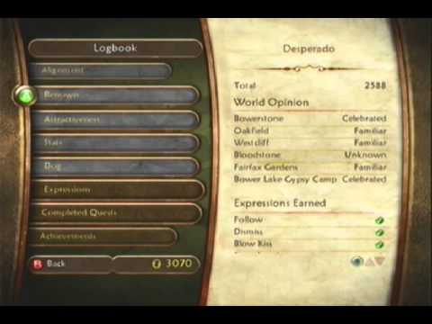 Fable 2 - How to lose weight