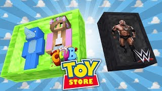 Minecraft TOYS - NEW TOY OF THE WEEK FIGHTS BATMAN !!