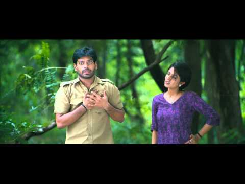 Enna Satham Indha Neram | Tamil Movie | Scenes | Comedy | Nithin Sathya gets scared of the tree
