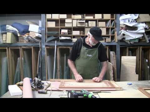 How To Cut Out Wood Cabinet Doors For Glass