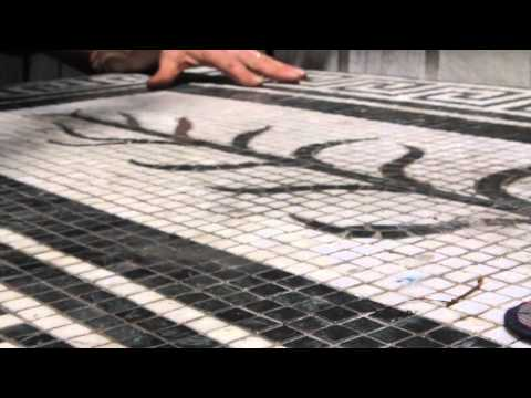 One Minute Tips: How To Make A Mosaic Tiled Table (with John Gleeson Connolly)