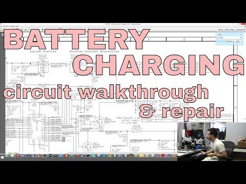 Macbook logic board not charging battery repair.