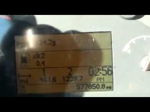Volvo truck fuel mileage 9.2mpg