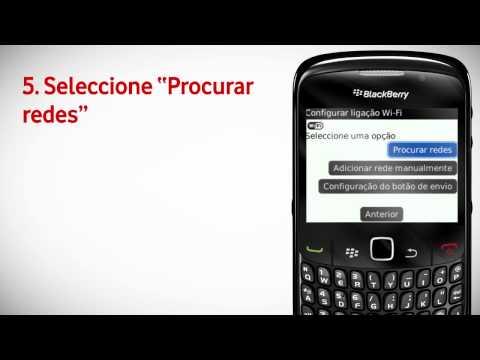 BlackBerry Curve 8520 - Configuração do Wi-Fi