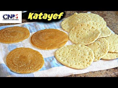 How to make Katayef (Qatayef) in 4K Ultra HD - in English and Arabic - (Part 1)