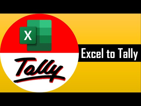 import excel to tally inventory vouchers entries