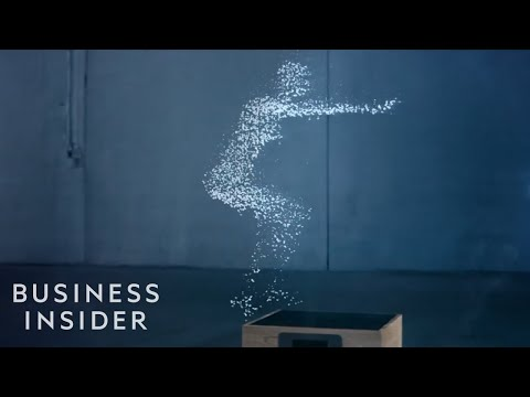 Water droplets create amazing human-like animations in this Gatorade ad
