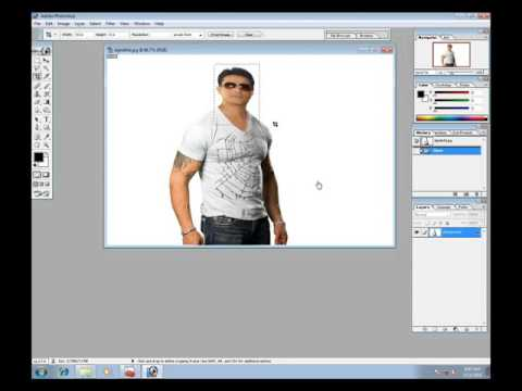 make passport size photo in photoshop   how to make passport size photo in hindi