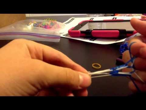 How to make a dragon scale bracelet on your fingers!!