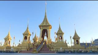 Royal crematorium construction now completed