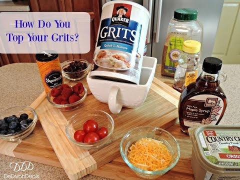 How Do You Top Your Instant Grits?