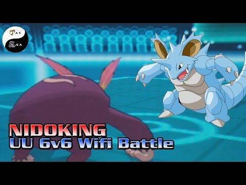 Nidoking OP: Pokemon 6v6 Wifi Battle - UU Tier JaySea vs Renz + Giveaway Announcements