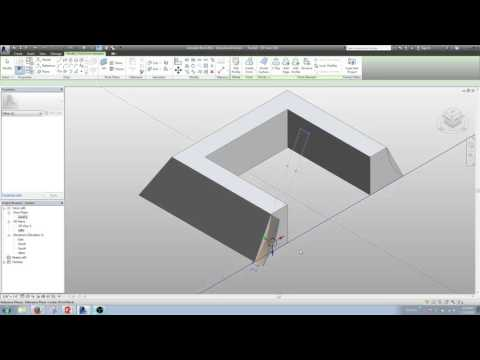 Revit- Massing a curved/bell shaped Roof