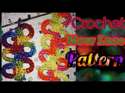 CroChet New Lace Patterns in hindi. indian crochet patterns