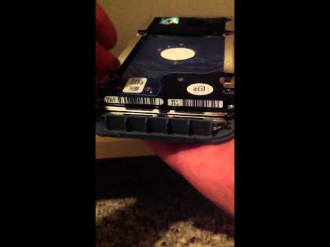 Xbox 360 HDD Case Removal/Disassembly