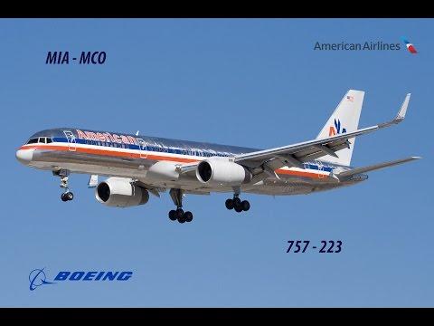 TRIP REPORT! American Airlines Miami (MIA) to Orlando (MCO)