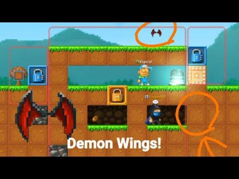 Scam Fail DEMON WINGS! | Pixel Worlds