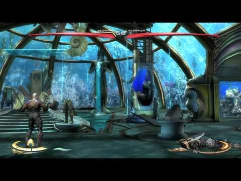 Injustice: Gods Among Us Ultimate Edition Aquaman VS Scorpion