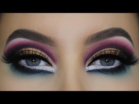 Smokey Cut Crease | Lunar Beauty LIFE'S A DRAG Makeup Tutorial