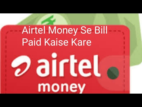 Electric bill paid from Airtel Money