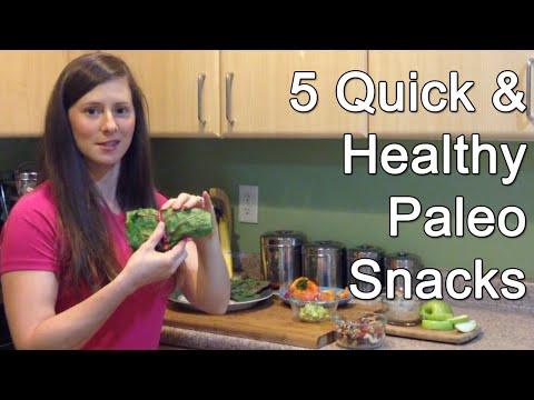 5 Quick and Healthy Paleo Snacks