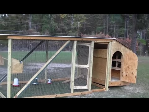How to build a hen house