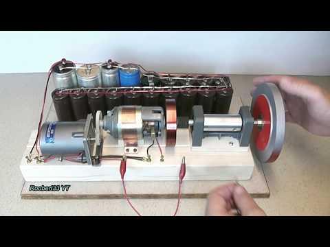 Motor Generator increase energy, TEST 2