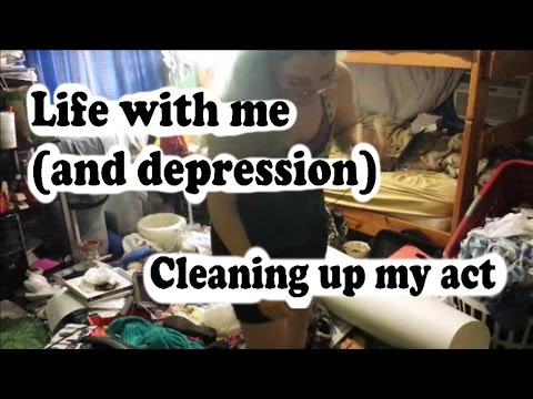 Life with me (and depression): cleaning up my act