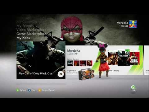 How to Change the Xbox 360 Dashboard wallpaper (HD)