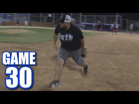 THE BEST PLAY WE'VE EVER SEEN! | On-Season Softball League | Game 30
