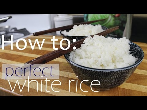 Rice to water ratio - How to cook perfect rice
